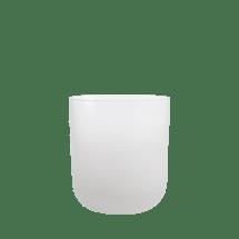 Gaobelet en verre blanc Izzy, 6,80€