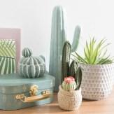 Cactus, Urban Mint et Knit