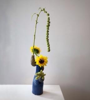 花器の形を生かす
