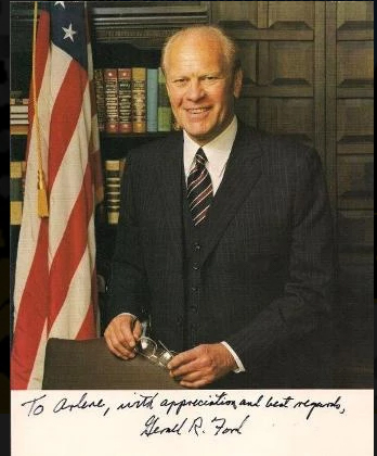 Custom Suit for President Ford