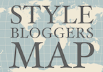 Sexy Shoes Expert and other Style Bloggers Map