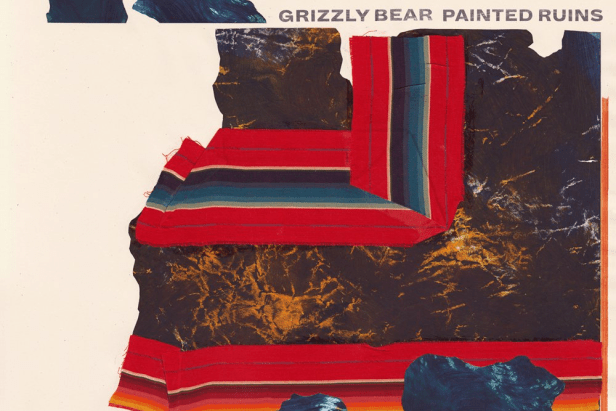 grizzly bear painted ruins WS