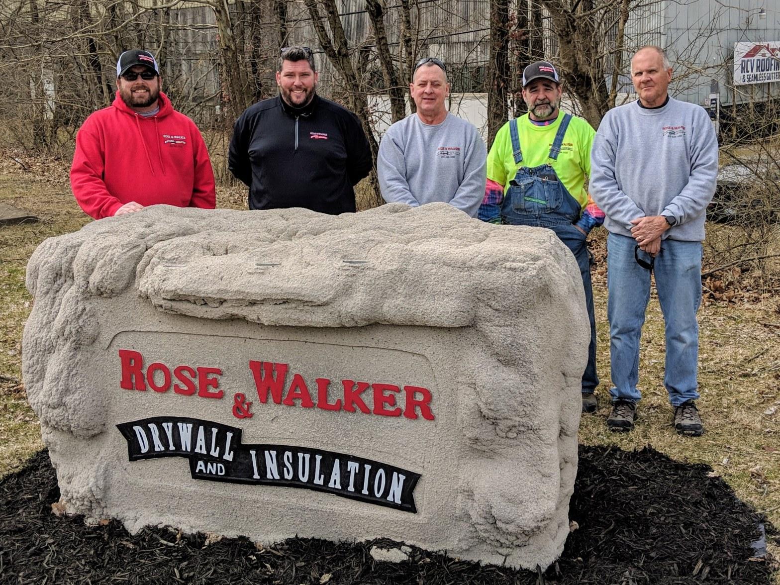 Rose & Walker Team Photo