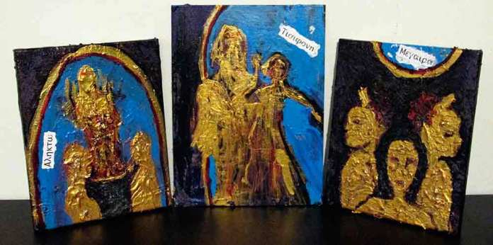 The Furies (Triptych)