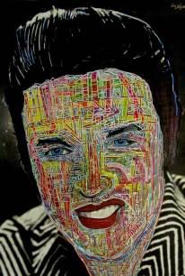 "20"" H x 30"" W. Acrylic on canvas. 2014"