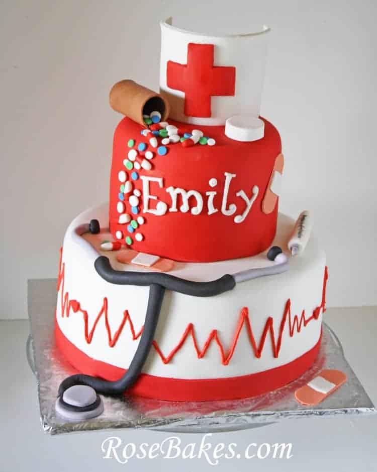 Famous Nursing School Graduation Cakes