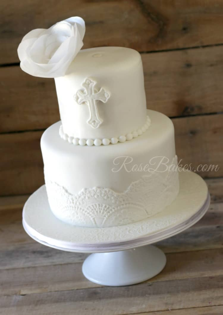 Unusual Baptism Cakes