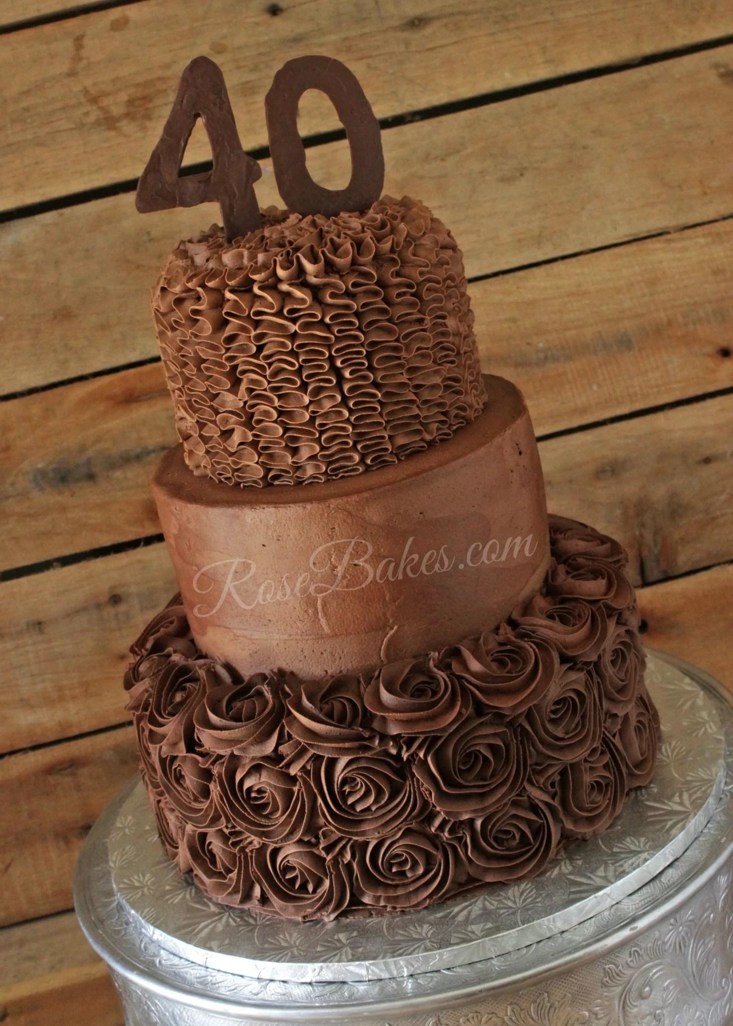 Birthday Chocolate Cake Ideas