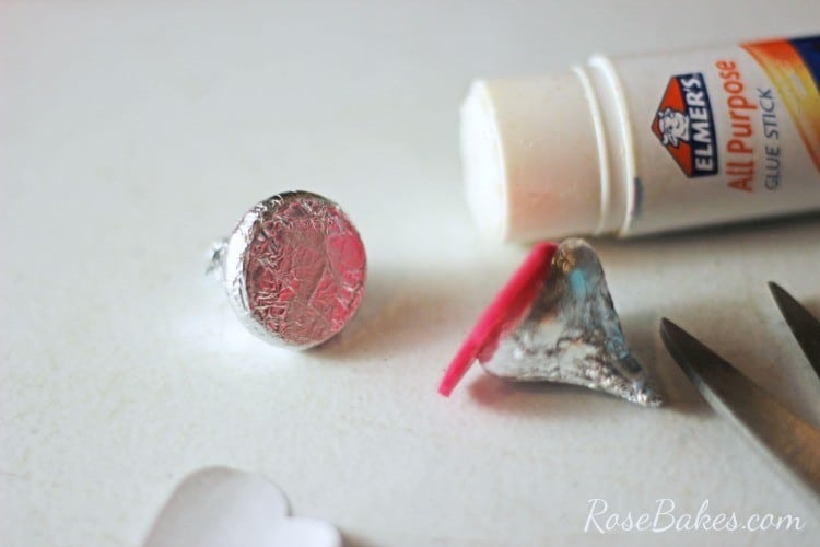 How To Make Valentines Hershey Kisses Mice Rose Bakes