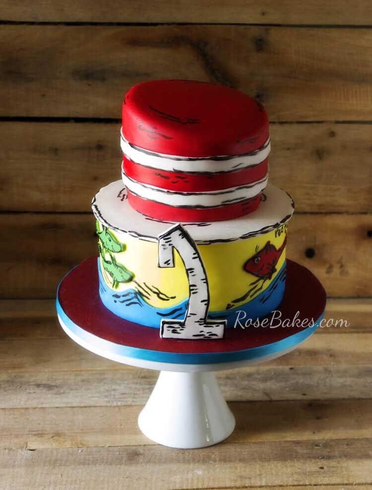 Happy Birthday Dr Seuss Dr Seuss Cakes Rose Bakes
