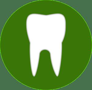 teeth, dental, green
