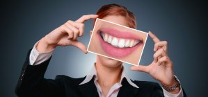 woman, smile, tooth