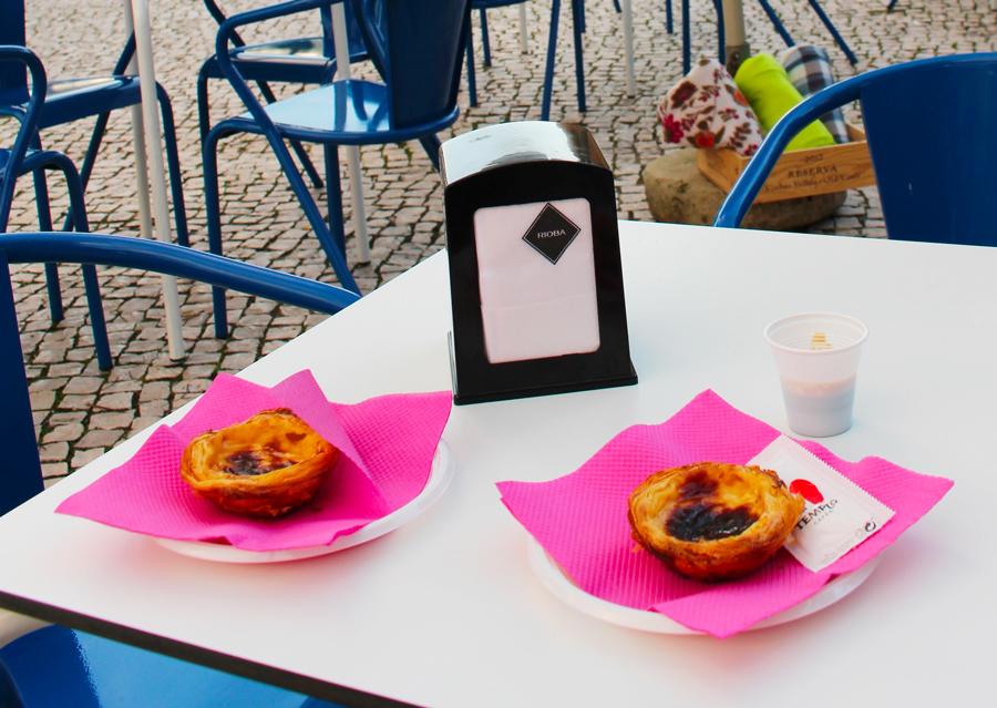 Pastel de nata à Faro