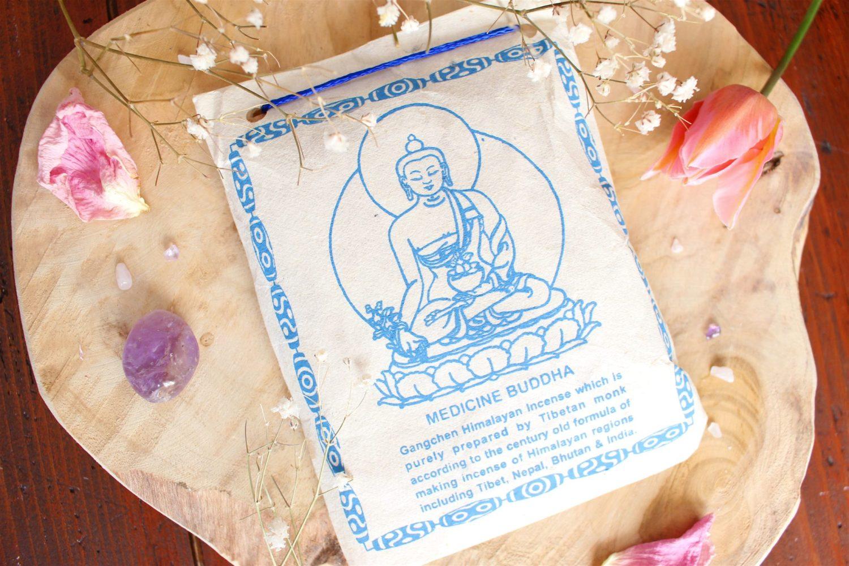 Encens Tibétain en poudre Bouddha de la médecine