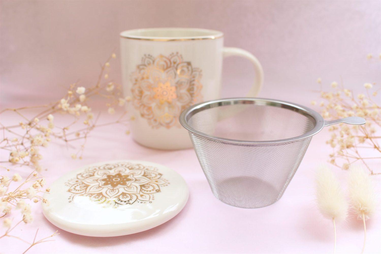 Kit ENVOUTHÉ : Tisanière & thé ou tisane bio aux choix