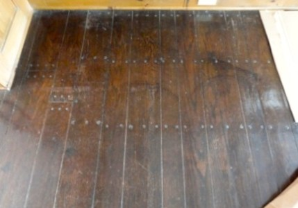 Refinish Face Nailed Wood Floors  Using Passive Refinishing     Refinish Face Nailed Wood Floors