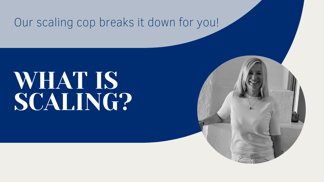 Discussion with our 'Scaling Cop' Maria