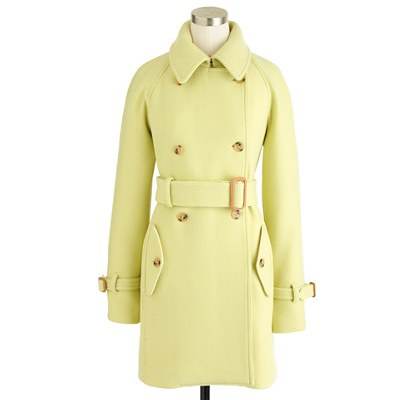 jcrew sale, jcrew coat,STADIUM-CLOTH BOULEVARD TRENCH Regular $410.00 now $162.99 with Promocode SALEFUN