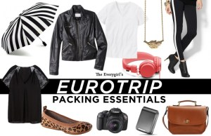 The Every Girl's Europe Trip Essentials www.theverygirl.com