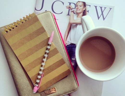 canadianlifestyleblog-canadianstyleblog-canadianfashionblog-rosecitystyleguide-windsor-ontario-outfits-fashion-lifestyle-beauty-trends-shoppping-ootdjcrew catalogue, cup of coffee, chapters mug, indigo mug, kate spade ipad cover