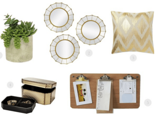 home decor under $50, cheap stylish home decor,