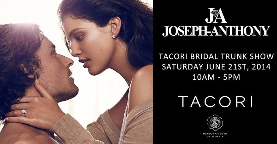 tacori trunk show, joseph anthony jewellery, tacori bride