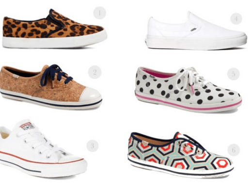 Stylish sneakers, cute sneakers, kate spade sneakers, van sneakers, converse classic sneakers