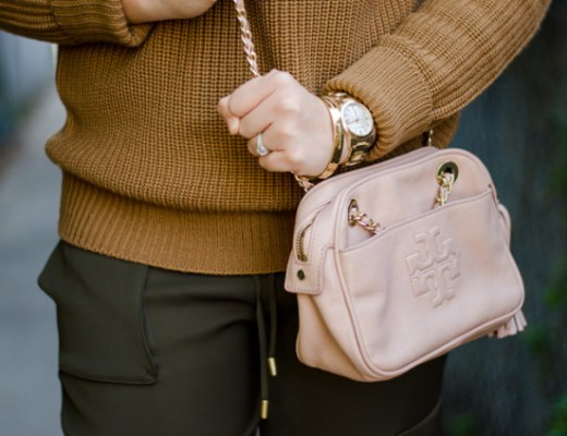 rose-city-style-guide-cable-sweater-tory-burch-purse-army-green-pants-fall-style-fall-outfit-ootd-outfit-of-the-day