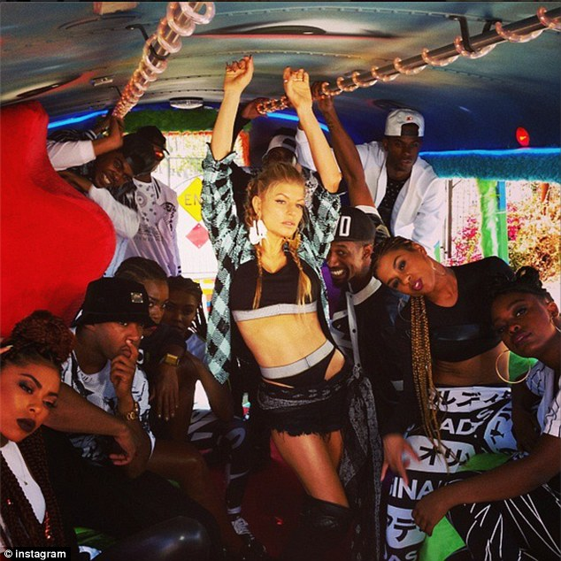 "Fergie ft YG ""L.A. Love"" Video"