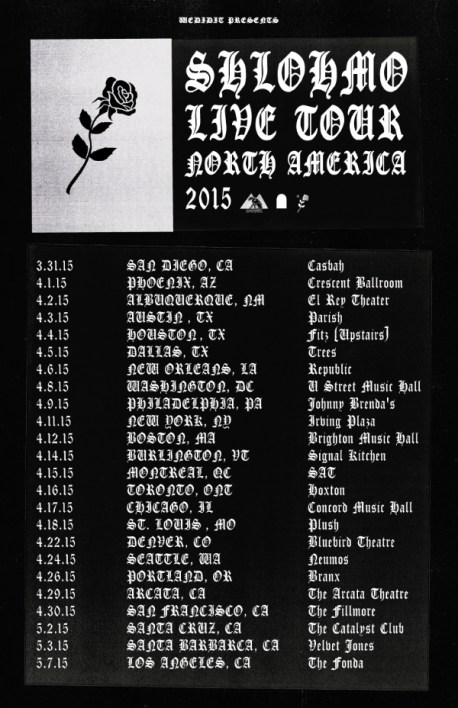 Shlohmo-tour