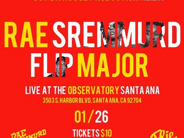 Rae Sremmurd & Flip Major @ Observatory 1/26/15