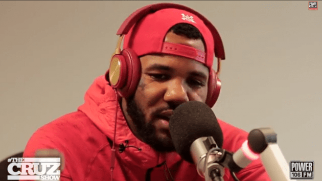 The Game's Interview and Freestyle with #TheCruzShow