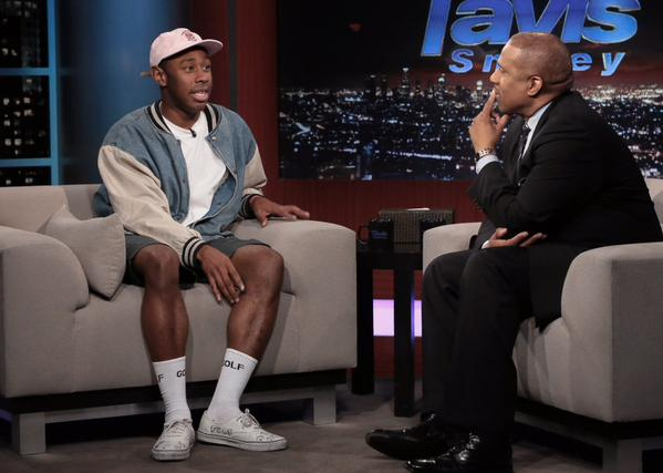 Tyler, The Creator Interviewed by Tavis Smiley