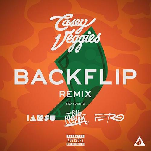 "Casey Veggies ""Backflip"" Remix #2 ft Wiz & A$AP Ferg"