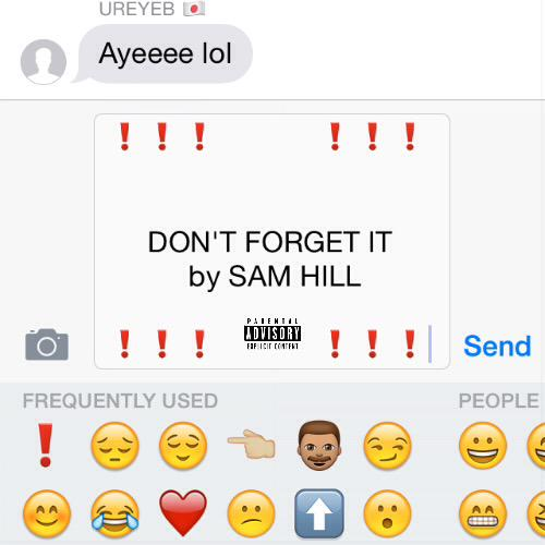 "Sam Hill ""Don't Forget It"" Prod Andrews"