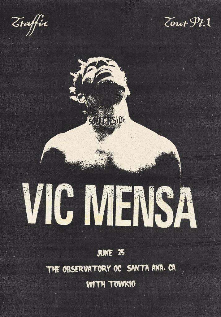 Vic Mensa & Towkio 6/25/15 @ OC Observatory