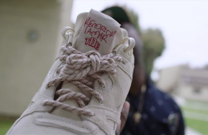 Kendrick Lamar's Signature Shoe Video