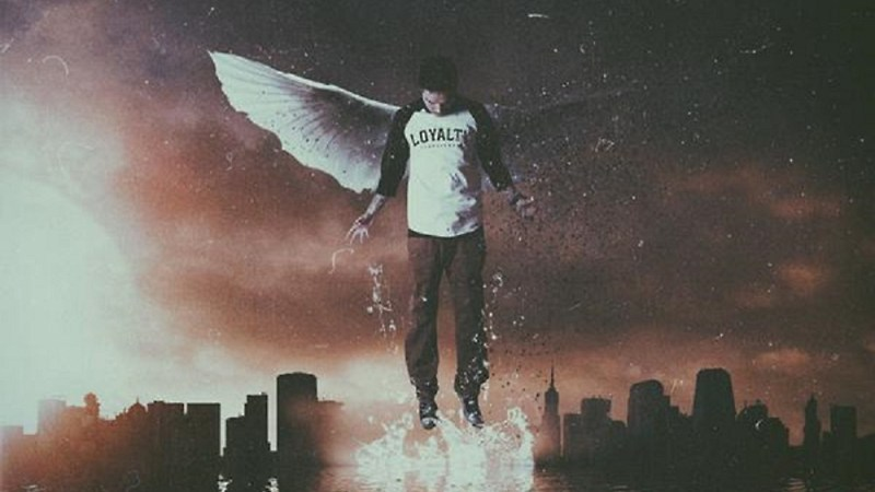 Angel With Broken Wings By Phora
