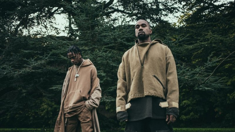 Travi$ Scott and Kanye Piss on Your Grave
