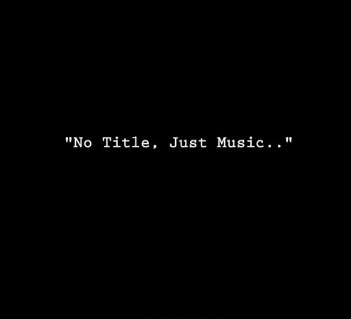 "Garrett Douglas presents ""No Title…Just Music"""