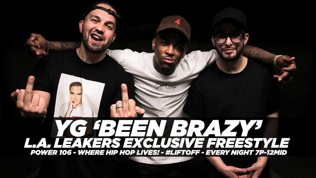 """YG – """"Been Brazy"""" L.A. Leakers Freestyle"""