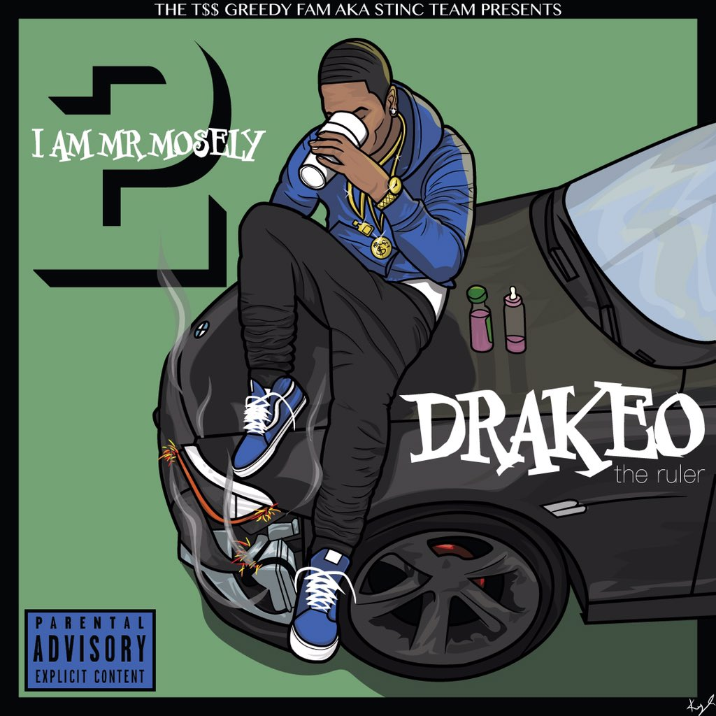 Drakeo The Ruler 'I Am Mr. Mosely 2' Mixtape