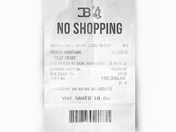 "French Montana ft Drake ""No Shopping"""