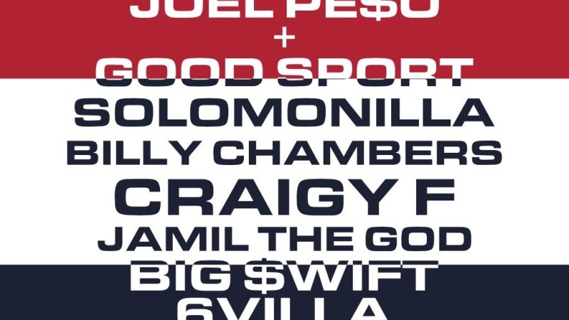 May 21st Rosecrans Ave Presents Solomonilla, Joel Pe$o, Craigy F, Big $wift + More!