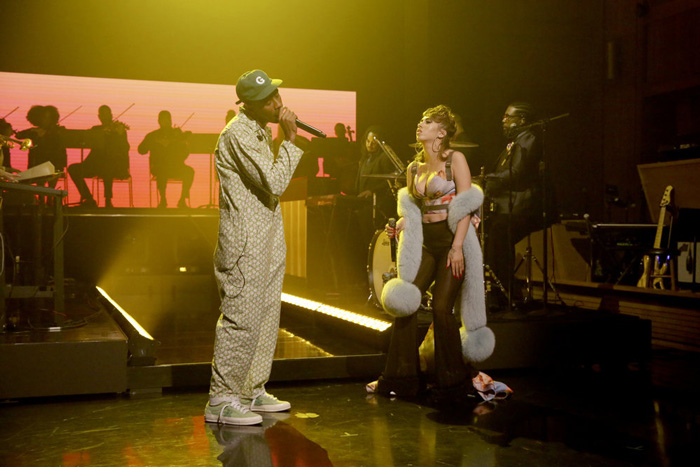 "Tyler, the Creator Performs ""See You Again"" On The Tonight Show"