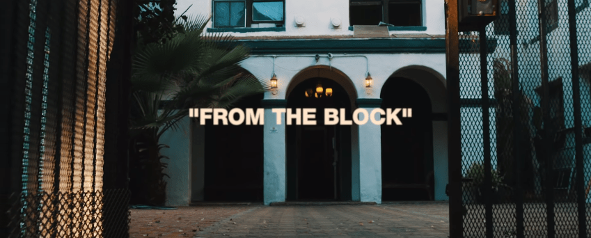 """AD – """"From the Block"""" Music Video Feat. Maxo Kream"""