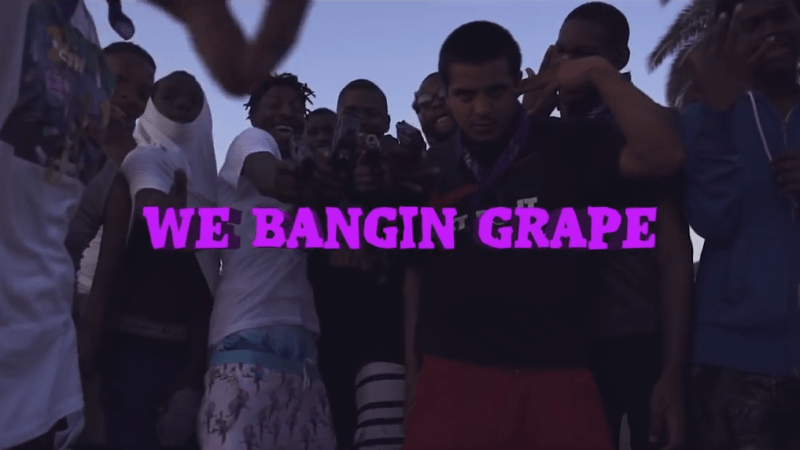 "Lil One Hunnet – ""We Bangin' Grape"" Feat. Blocboy JB & 03 Greedo Dir. by Swagggyr & Wallis Lane"