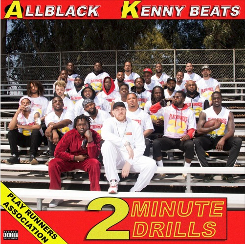 "ALLBLACK x Kenny Beats Release ""2 Minute Drills"""