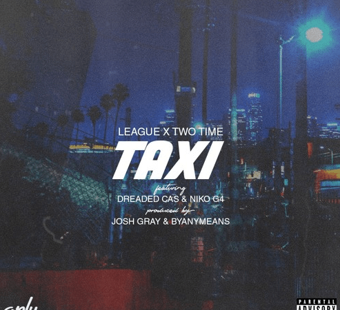 "League & Two Time Play ""TAXI"" In a Yellow Cab"