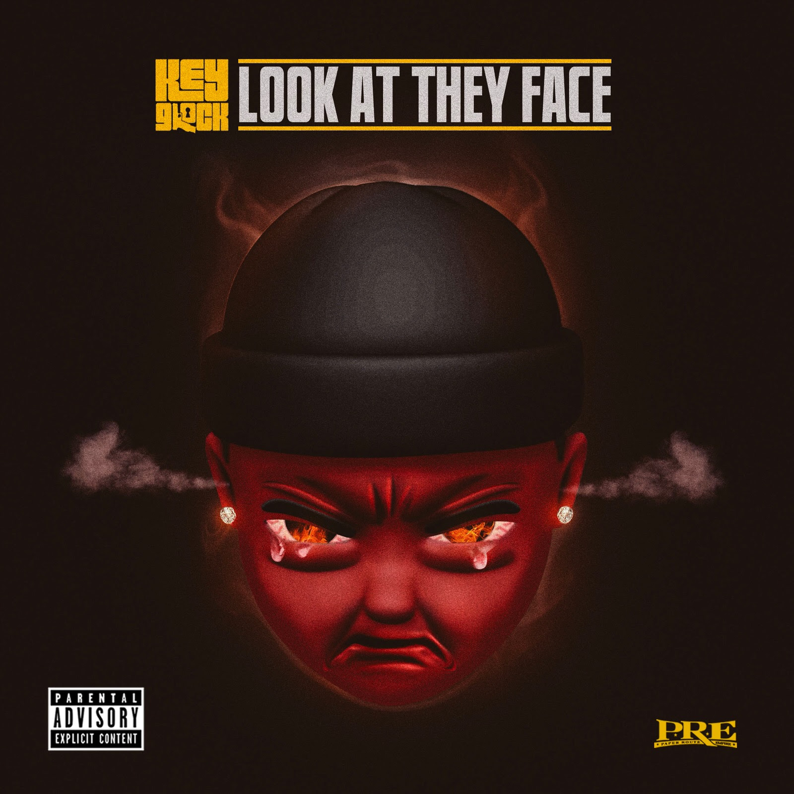 """Key Glock – """"Look At They Face"""" Music Video"""
